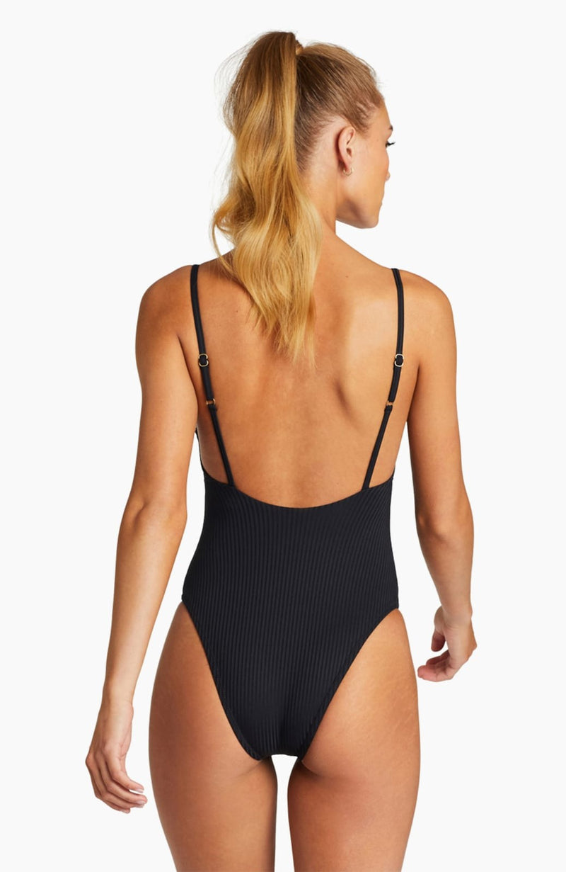 Vitamin A EcoRib Bedette One Piece Swimsuit
