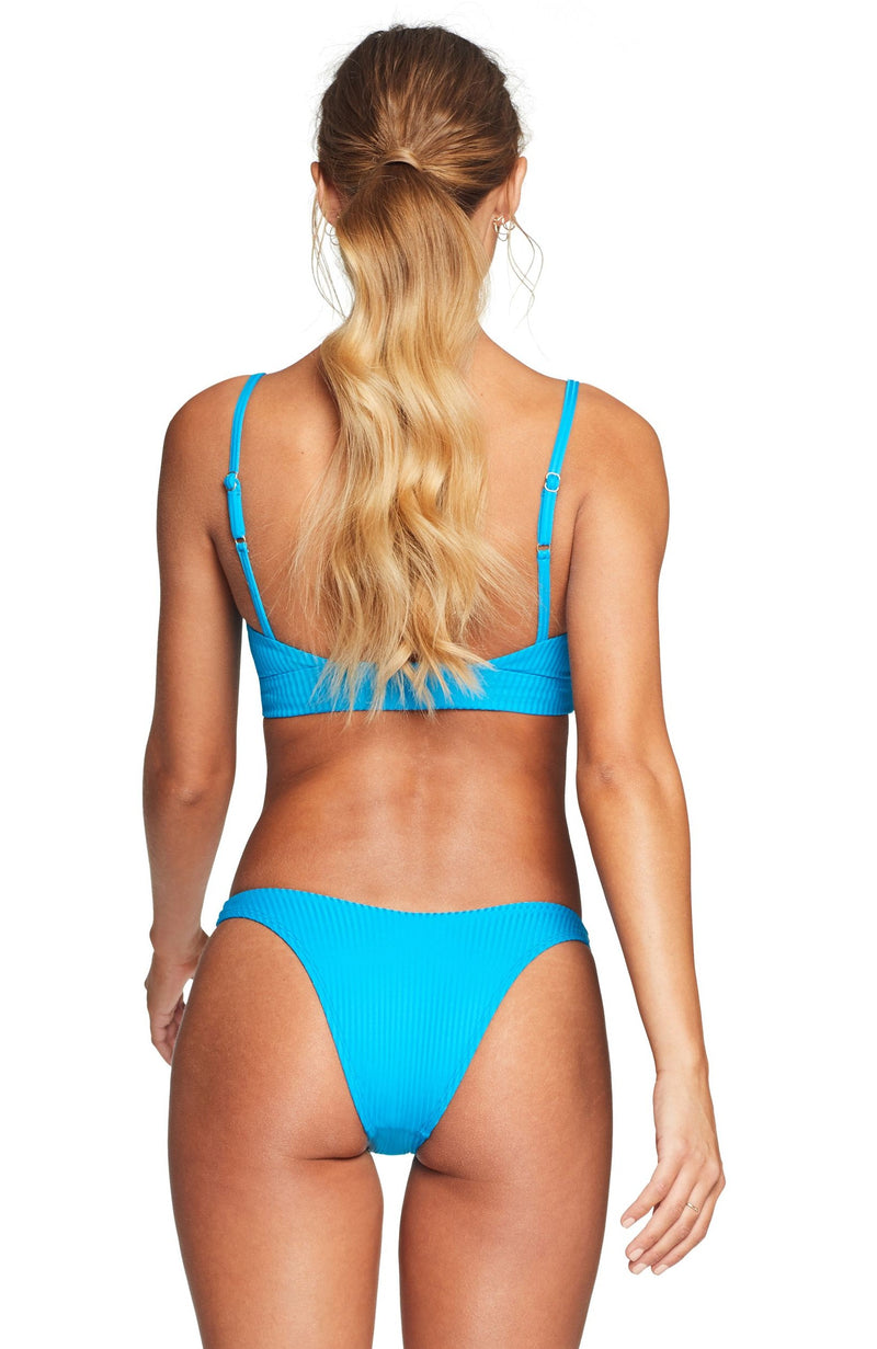 Vitamin A EcoRib California High Leg Bikini Bottom
