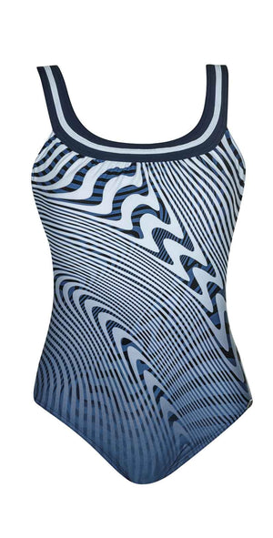 Sunflair Californian Blue Round Neck One Piece front