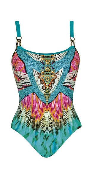 Sunflair Oriental Dream Round Neck One Piece