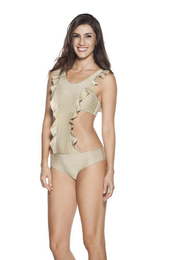 OndadeMar Every Day Monokini in Gold