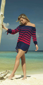 Sunflair New Nautic Beach Blouse front