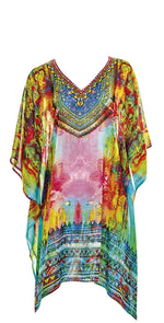Sunflair Oriental Dream Poncho front