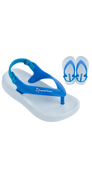 iPanema Ana Tan Baby Sandals Blue