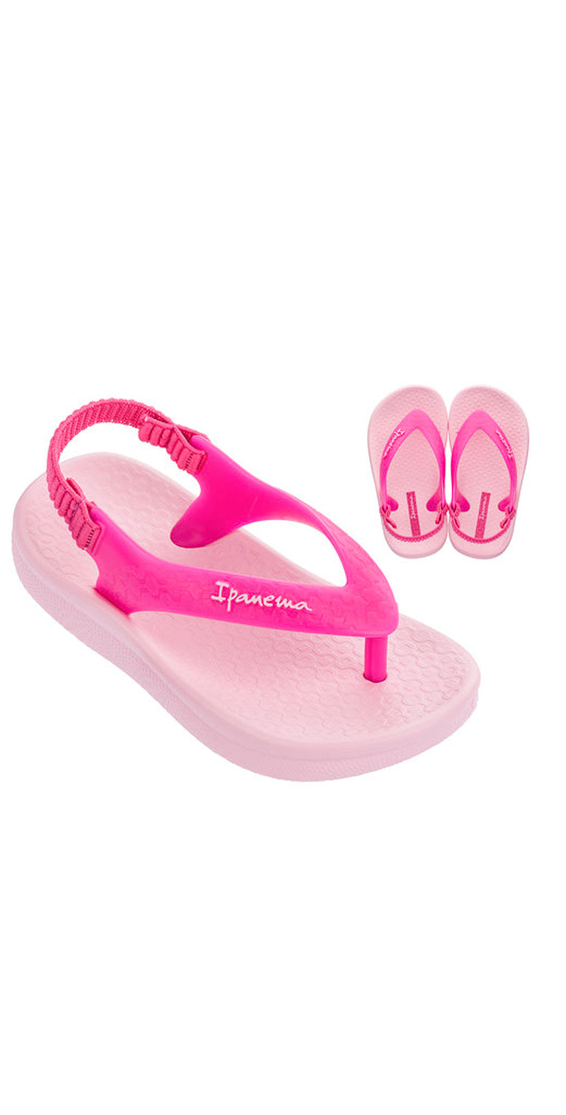 iPanema Ana Tan Baby Sandals Pink