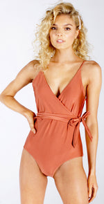Westerly Topsail Maillot One Piece in Copper front