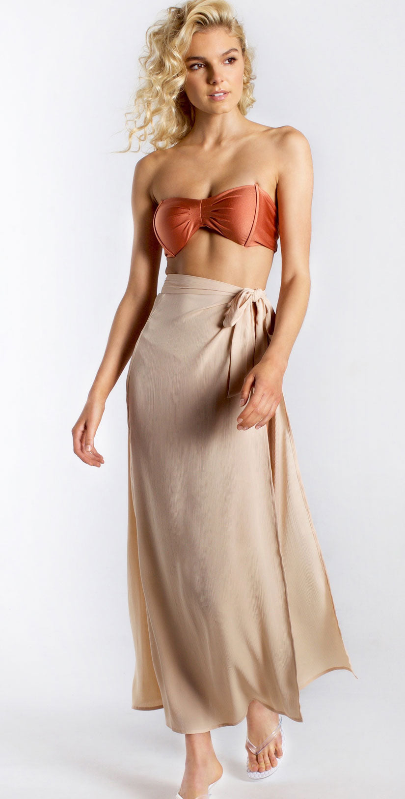 Westerly Waikiki Skirt in Nude front