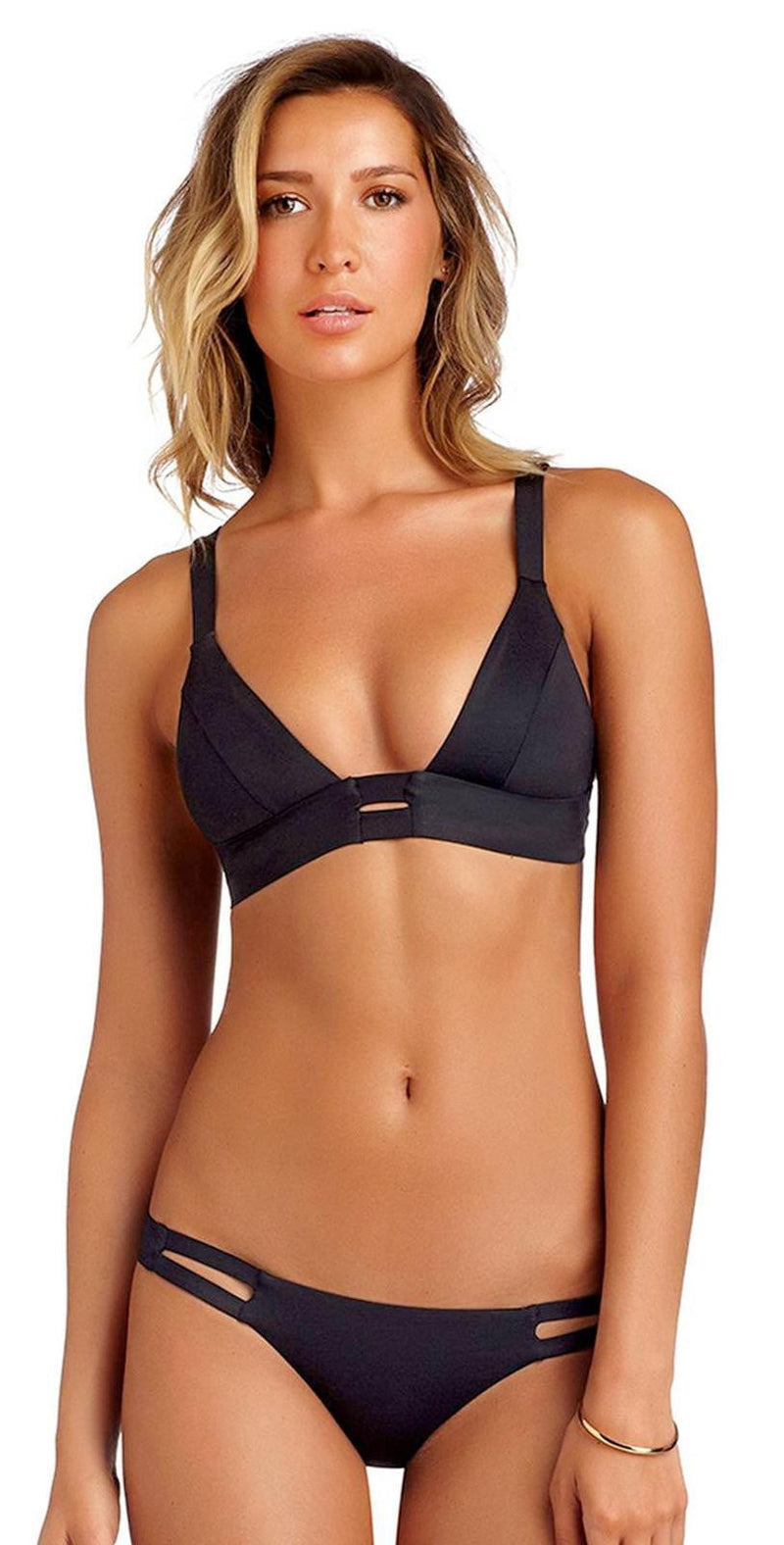 Vitamin A EcoLux Neutra Hipster Bottom in Black 42B-ECB: