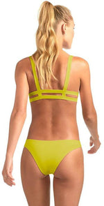 Vitamin A Neutra Bralette in Citron Refresh 40T CTR: