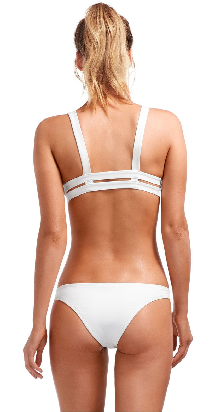 Vitamin A EcoLux Neutra Hipster Bottom in White 42B-ECW: