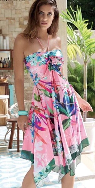 Opera Swim Candy Beach Convertible Dress 63620-43: