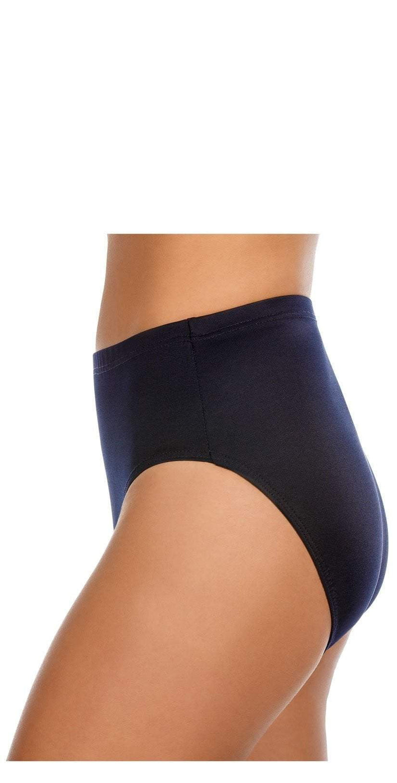 Miraclesuit Solid Midnight Blue Basic Pant Bikini Bottom 6516601 MDN:
