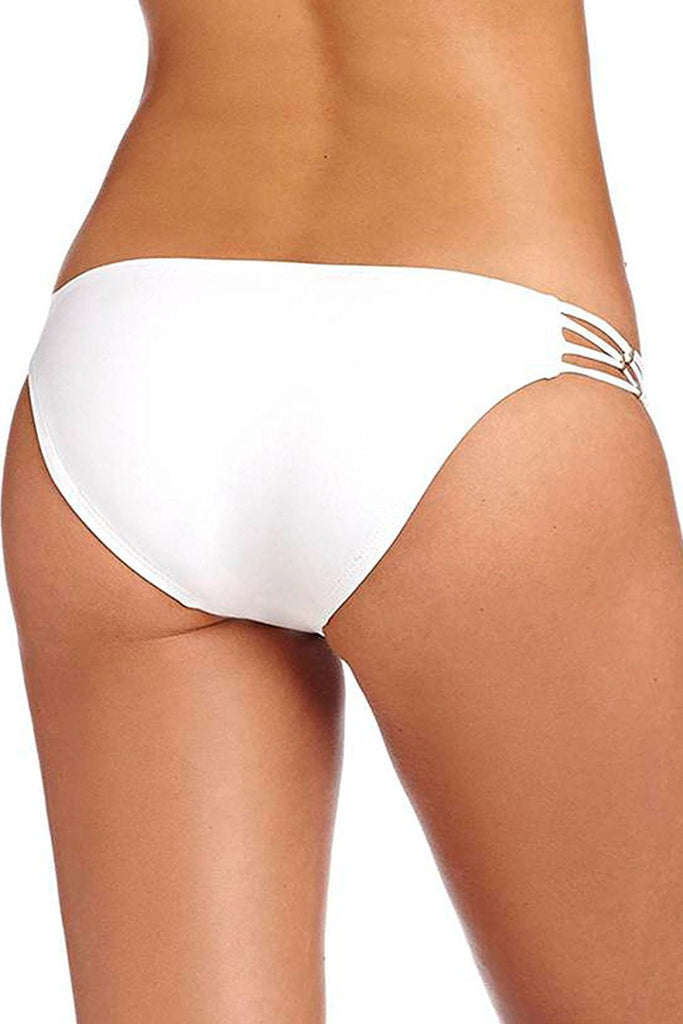 Vitamin A White Amber Beaded Hipster Full Bottom 158BFECW