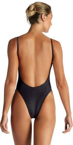 Vitamin A EcoRib Yasmeen One Piece in Black 801M ERB: