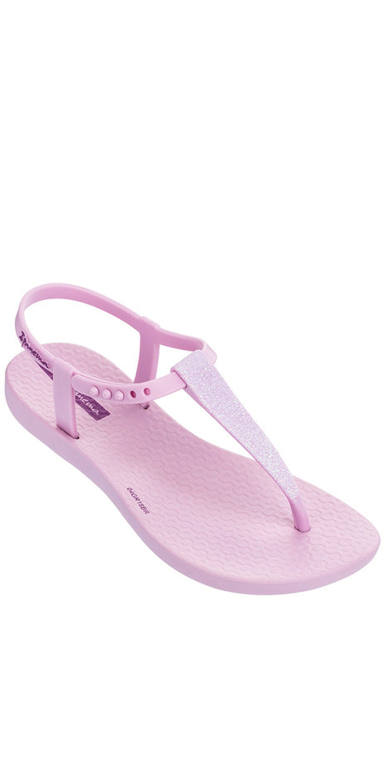 iPanema Shimmerkid T-Strap Sandal in Pink 22926-82306