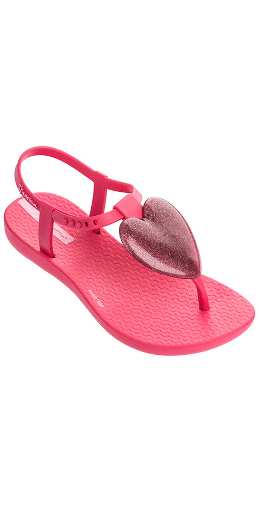 iPanema Kids Heart Love Sandal pink