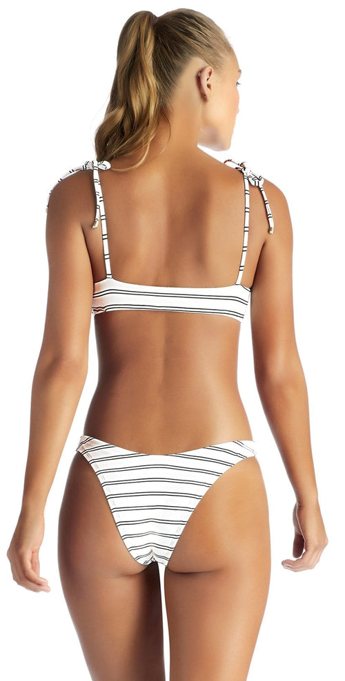 Vitamin A Club 55 California High-Leg Bikini Bottom 812B-CLU studio model back view