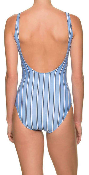 Draper James for Helen Jon Maillot One-Piece in Bold Stripe: