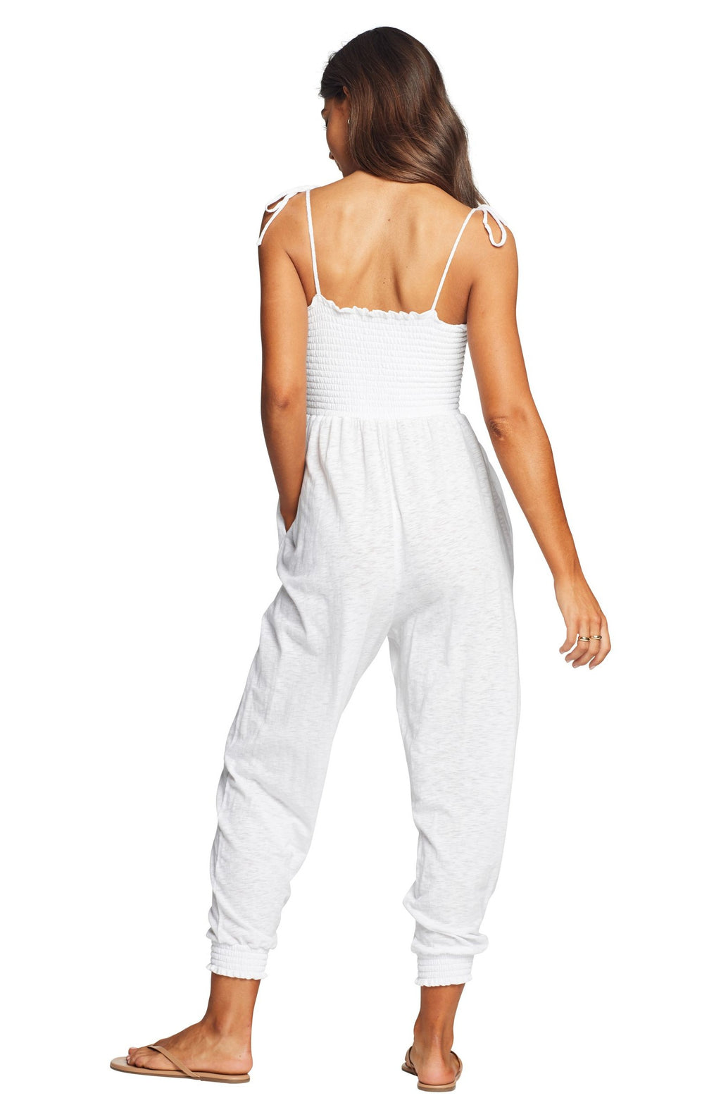 Vitamin A Moonlight Jumpsuit in White