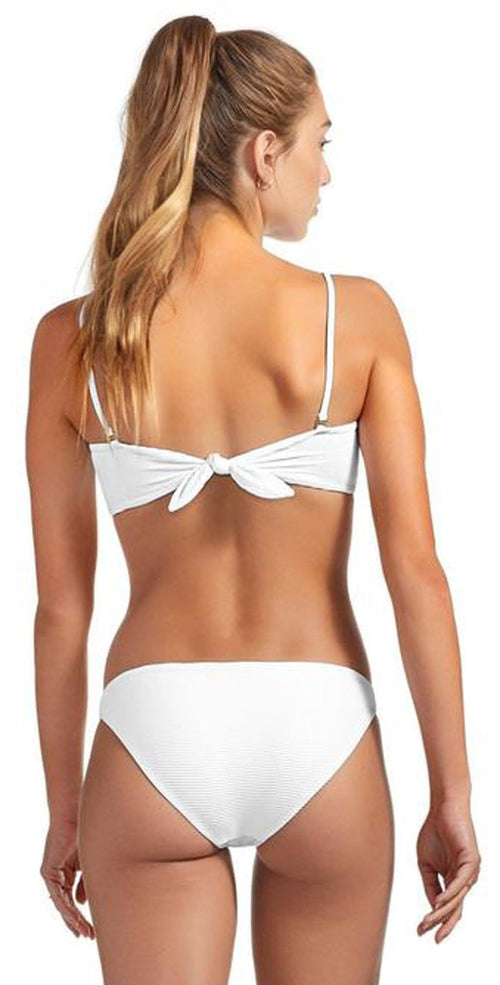 Vitamin A Luciana BioRib Full Coverage Bottom in White 167BF WBR: