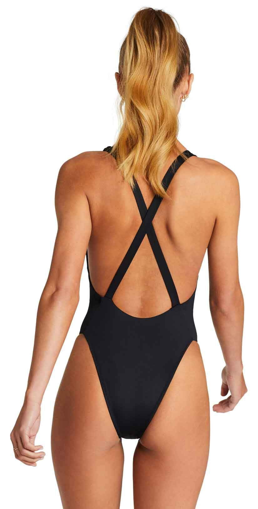 Vitamin A EcoLux Alana Bodysuit in Black: