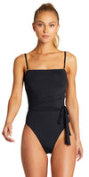 Vitamin A EcoLux Marylyn One Piece Swimsuit in Black 930M ECB