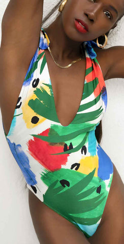 Andrea Iyamah Setta One Piece Swimsuit