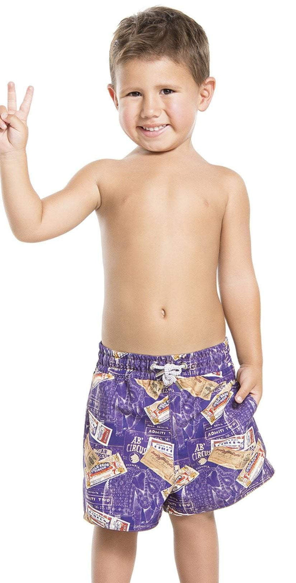 Agua Bendita Acrobacia Boys Swim Shorts AN20106-1