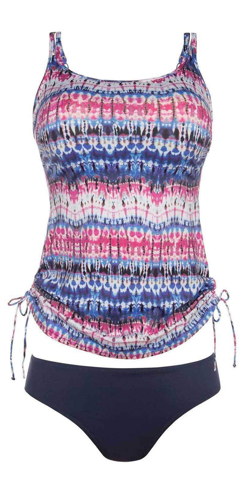Anita Care Indigo Dye Mastectomy Tankini Set 6575-009: