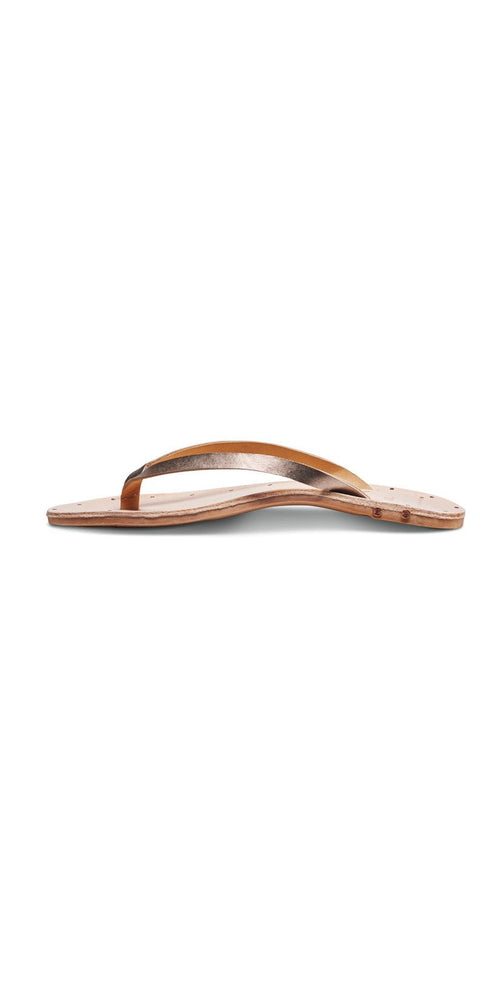 Vitamin A Beek Seabird Sandals in Bronze SEA-BZVA: