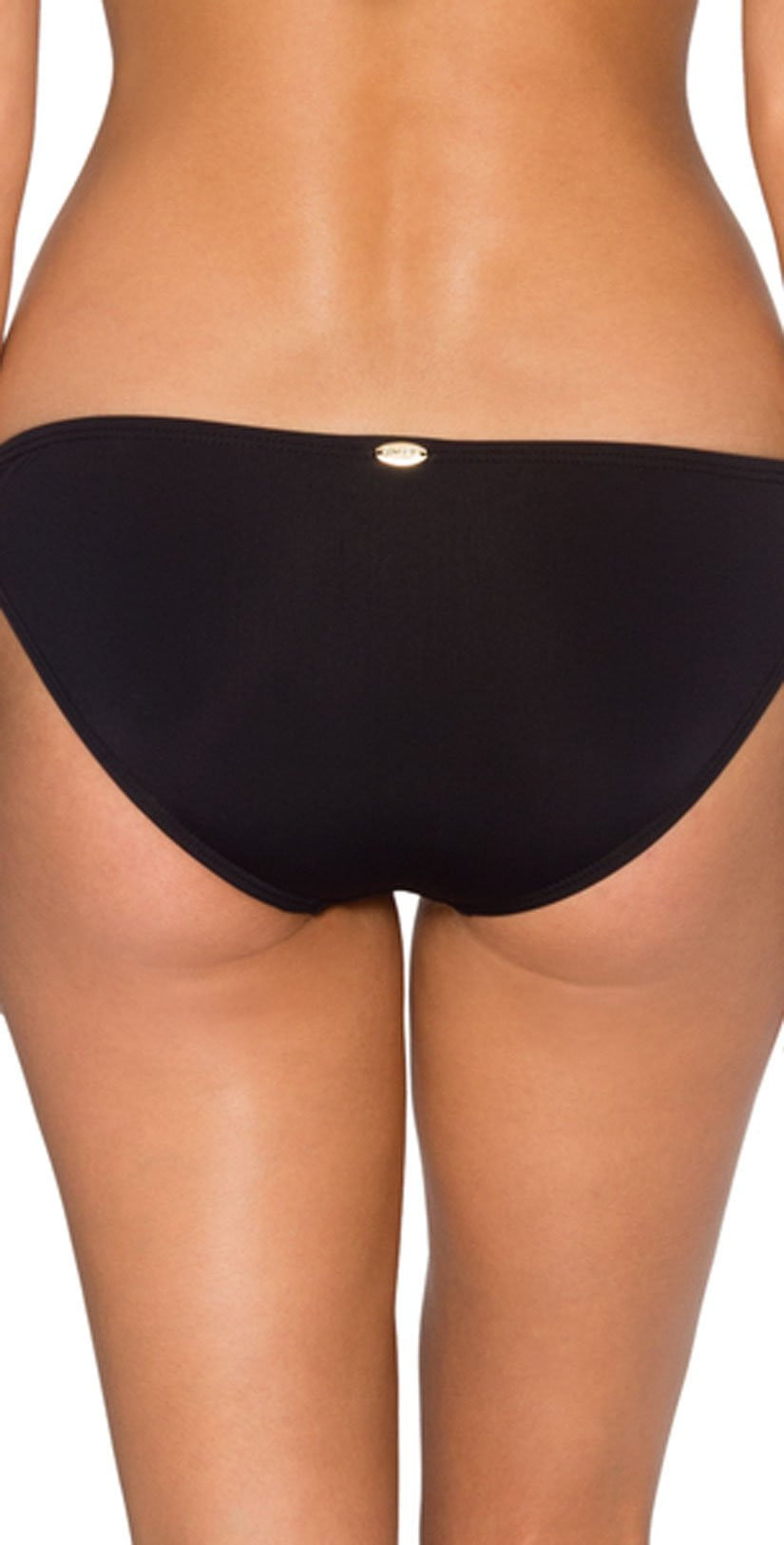 Sunsets Twist and Shout Bottom In Black 14B-BLCK: