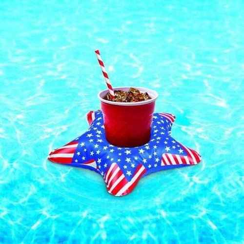 Big Mouth Patriotic Stars Beverage Boats