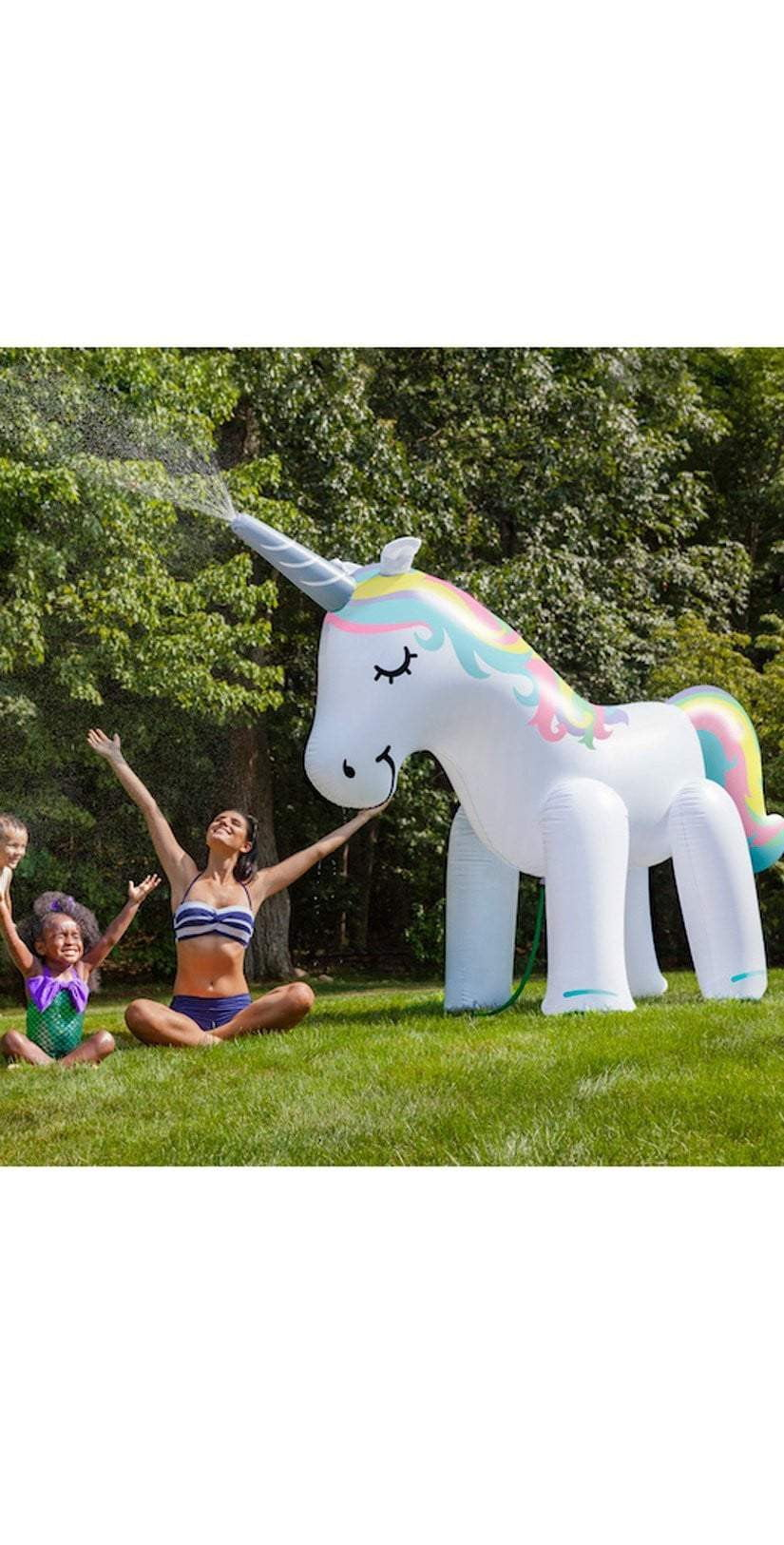 Big Mouth Ginormous Unicorn Yard Sprinkler BMYS-001 - IN STOCK NOW: