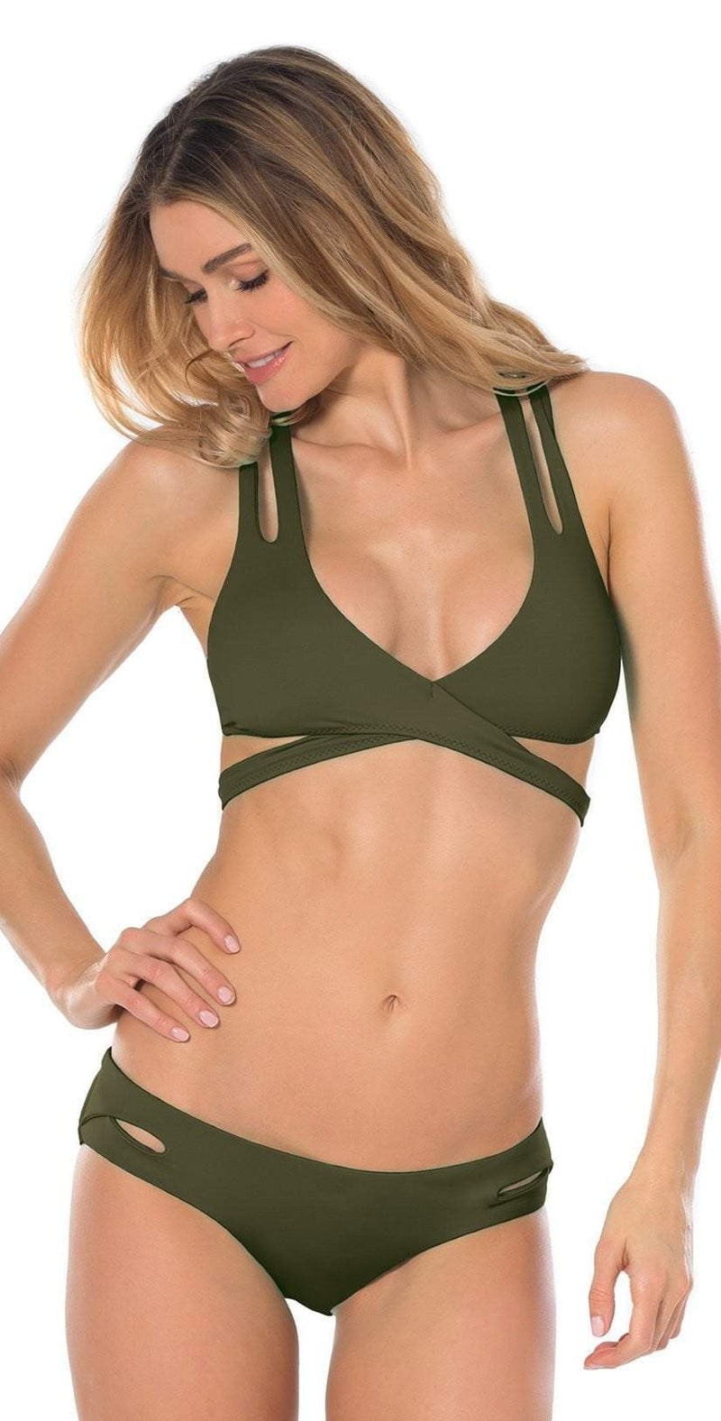 Becca Color Code Hipster Bottom In Bayleaf 854787-BAY: