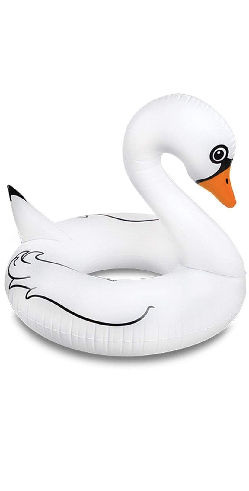 Big Mouth Giant White Swan Pool Float BMPF-0011: