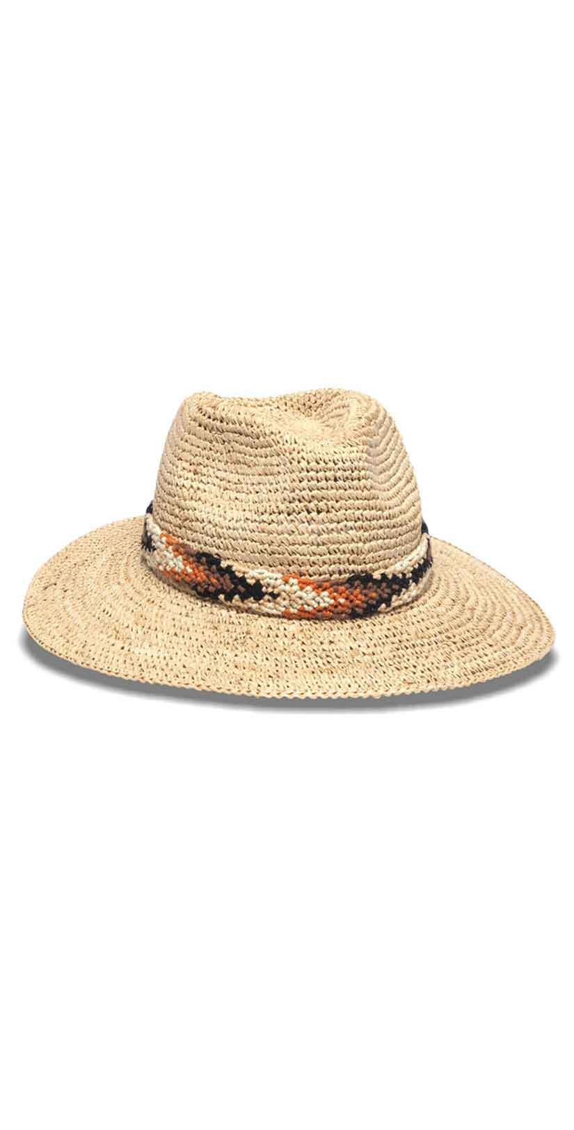 Nikki Beach Bodrum Hat in Natural: