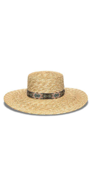 Nikki Beach Bossa Hat in Natural: