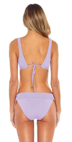 Becca Colorplay High Neck One Piece Swimsuit in Highlight 711197 SKL