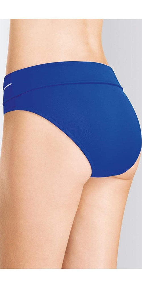Amoena Combini Foldover Bottom in Blue 70773 back studio