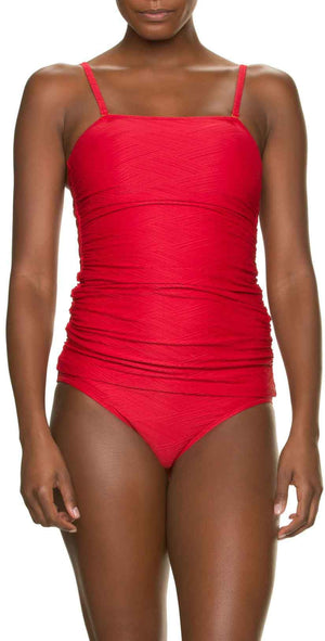 Helen Jon Classic Hipster Bottom in TopSail Red: