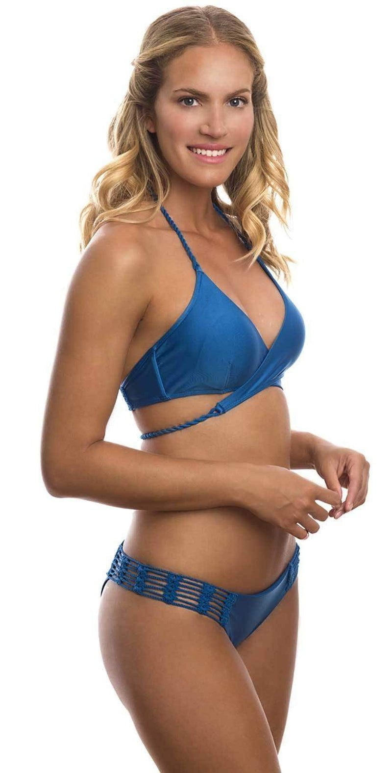 Despi Cache-Couer Brazilian Bottom in Ultramarine  1206BB: