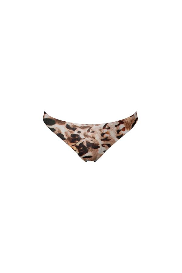 Ochie Swim Donna Cheeky Bikini Bottom in Animal
