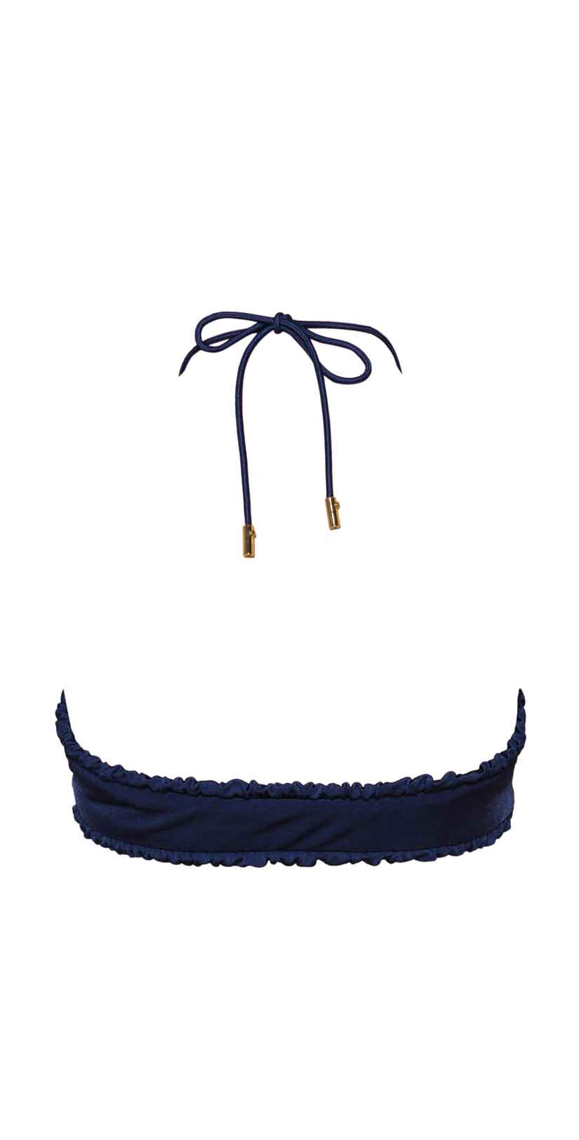 Ochie Swim Donna Bikini Top in Deep Blue