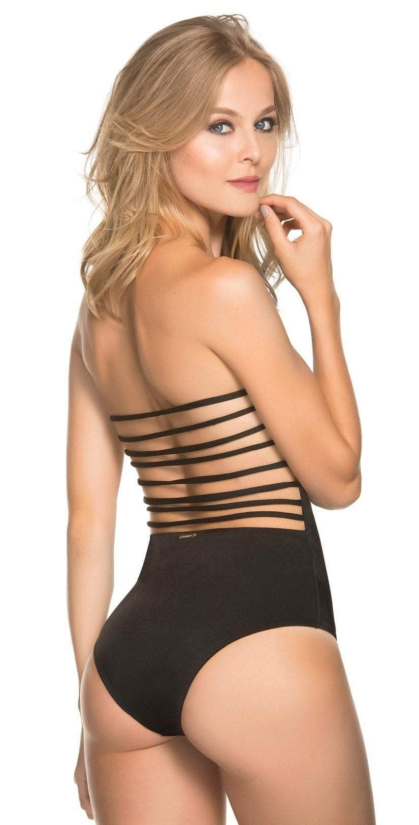Dulzamara Sunshine Bandeau One Piece BACK VIEW