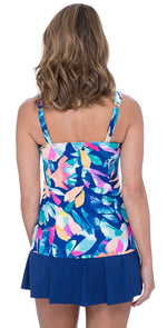 Profile By Gottex Underwire Tankini Top E931 1D18 080: