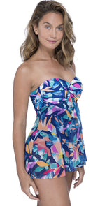 Profile by Gottex Bermuda Breeze Flyaway One-Piece Swimsuit: