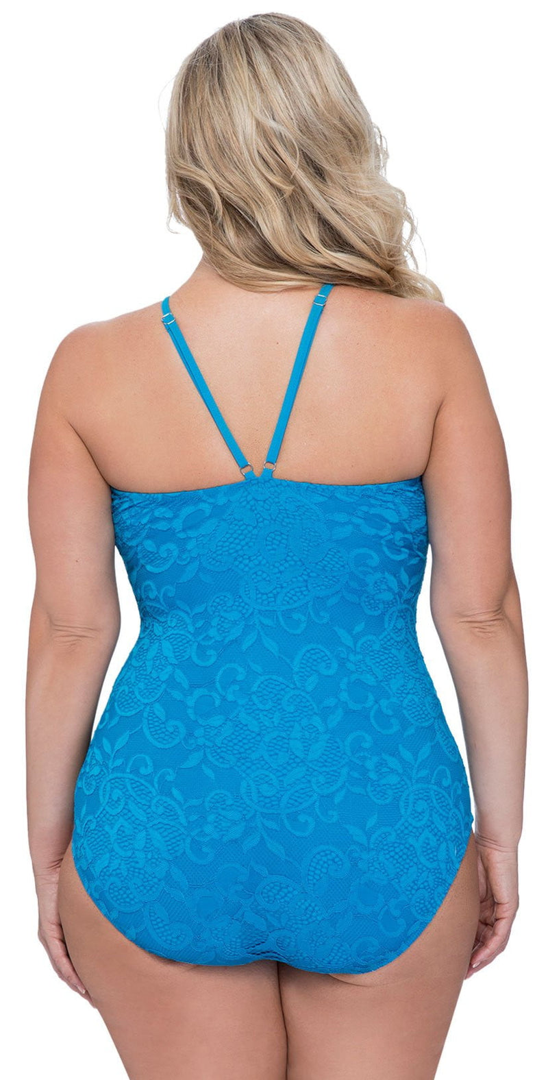 Profile by Gottex Shalimar One-Piece Swimsuit in Peacock E938 2W69 309: