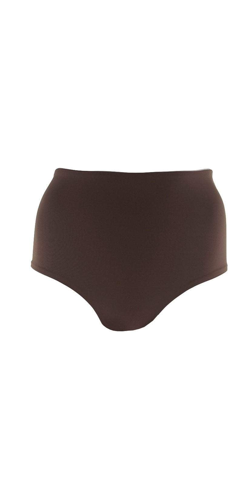 L Space Portia Bottom in Chocolate TSPOC18-CHO floating studio