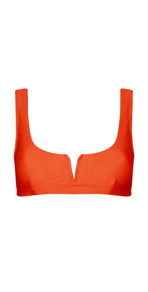 Ochie Swim Farrah Bikini Top in Sunset