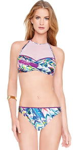 Gottex Les Plumes High Neck Bikini Set 16LP-952R-080: